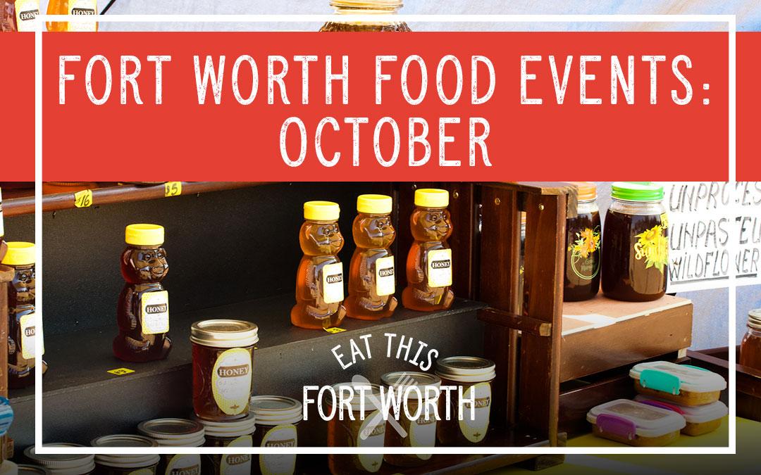 October Food Events