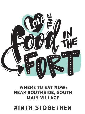 Fort Worth Restaurants offering to-go and meals for delivery : Near Southside, South Main Village